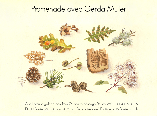 Invitation Gerda Muller